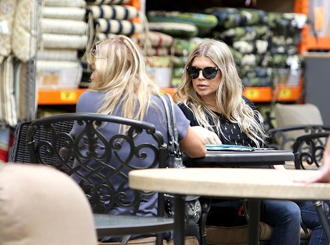 Fergie et sa mère Theresa à Los Angeles le 15 juillet 2013