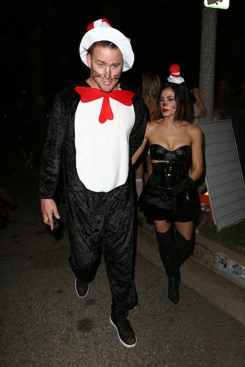 Channing Tatum et Jenna Dewan, Halloween 2015 à Los Angeles