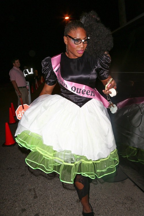 Serena Williams, Halloween 2015 à Los Angeles