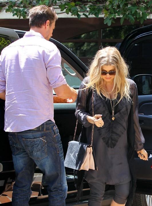 Fergie et Josh Duhamel à Pacific Palisades le 30 mai 2013