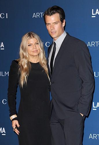 Fergie et Josh Duhamel à Los Angeles le 2 novembre 2013