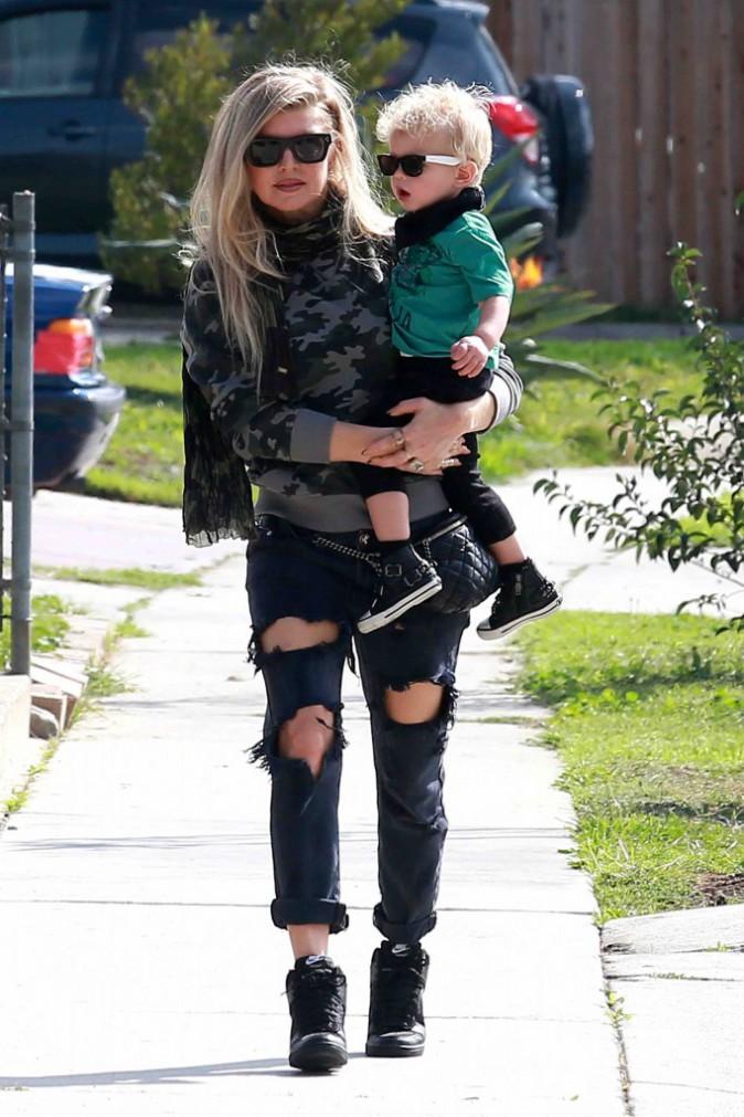 Fergie et son fils Axl : telle mère tel fils, les deux se la jouent Rock Star !