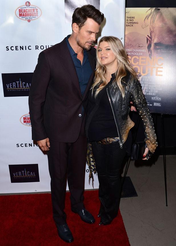 Fergie et Josh Duhamel à l'avant-première de Scenic Route à Hollywood le 20 août 2013