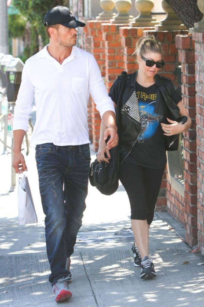 Fergie et Josh Duhamel se baladent à New York