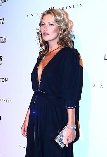 Kate Moss à Sao Paulo le 5 avril 2013