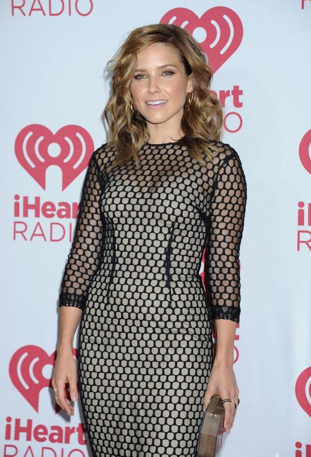 Sophia Bush sur le tapis rouge du iHeartRadio Music Festival, à Las Vegas, le 20 septembre 2014