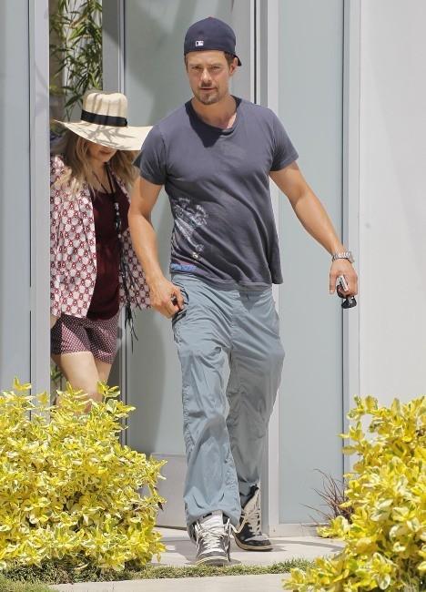 Fergie et Josh Duhamel le 4 juin 2013 à Pacific Palisades