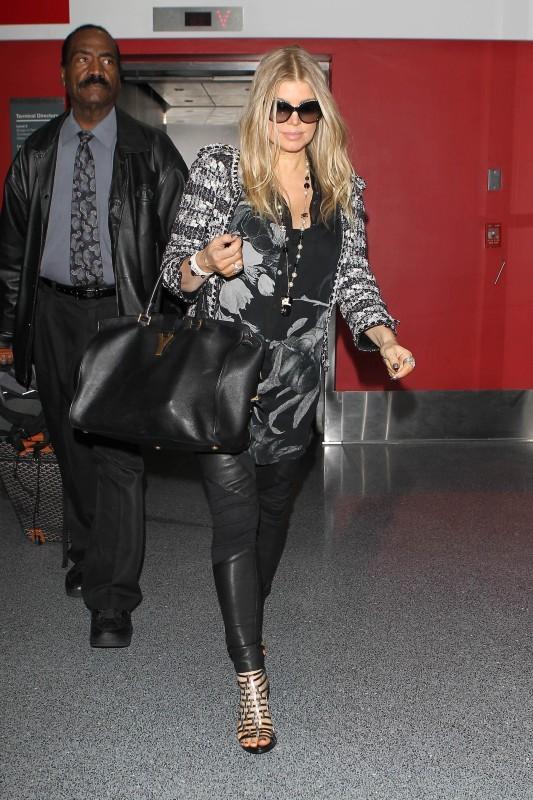 Fergie, future maman fashion