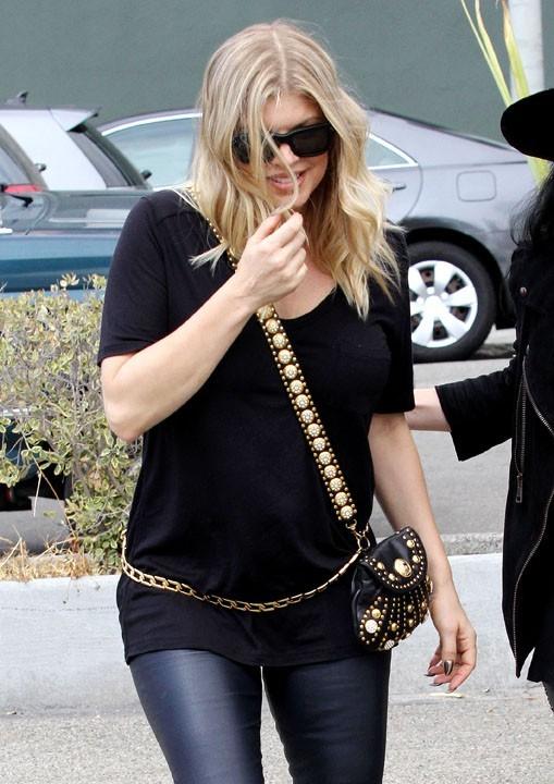 Fergie à Beverly Hills le 11 octobre 2012