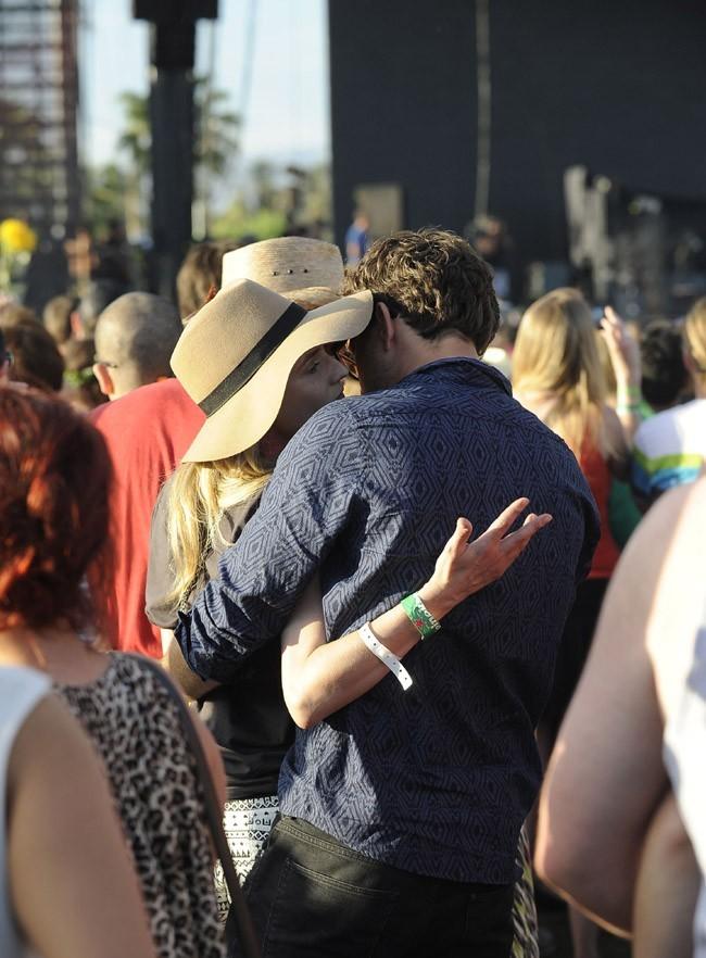 Diane Krüger et Joshua Jackson au Festival de Coachella le 13 avril 2013