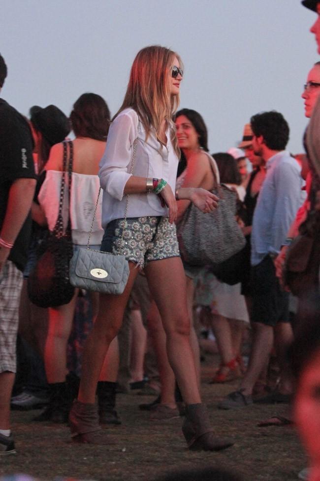 La top, sexy et relax au festival de Coachella !