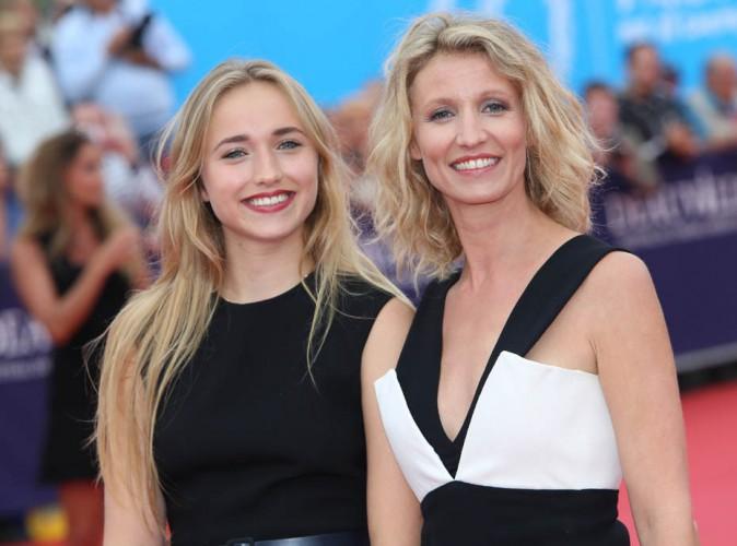 Festival de Deauville 2014 : Alexandra Lamy et sa fille Chloé Jouannet : tendre duo complice pour la cérémonie d'ouverture !