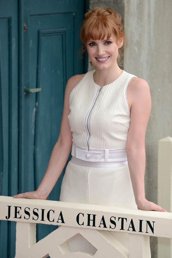 Jessica Chastain au Festival de Deauville le 5 septembre 2014