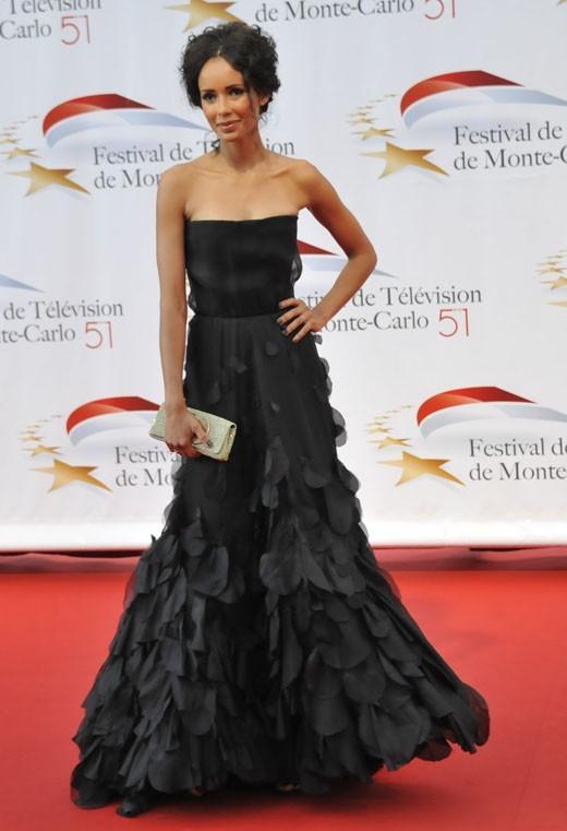 Sonia Rolland à l'ouverture du Festival de la Télévision de Monte-Carlo 2011 !