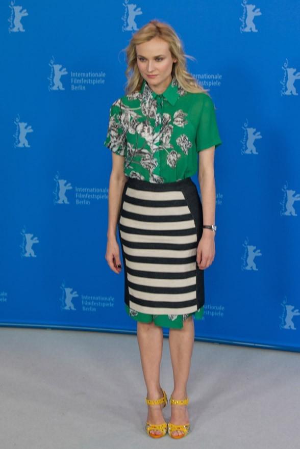 Diane Kruger mixe les genres !