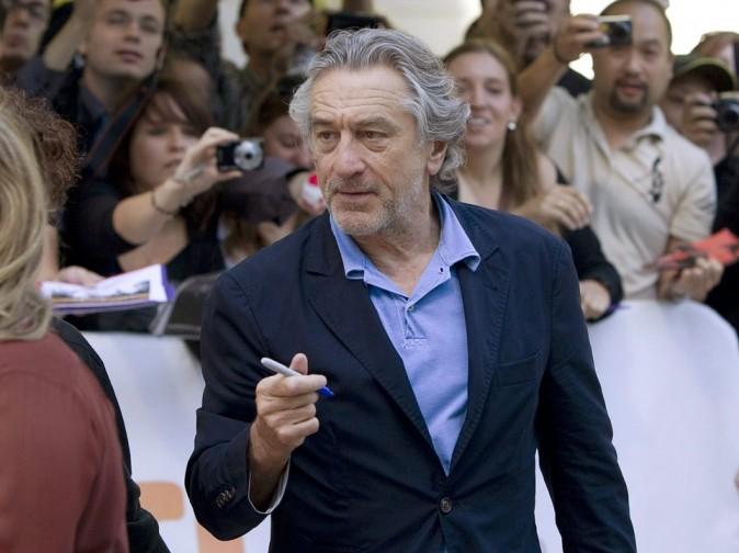 Robert De Niro lors du Festival du Film de Toronto, le 11 septembre 2011.
