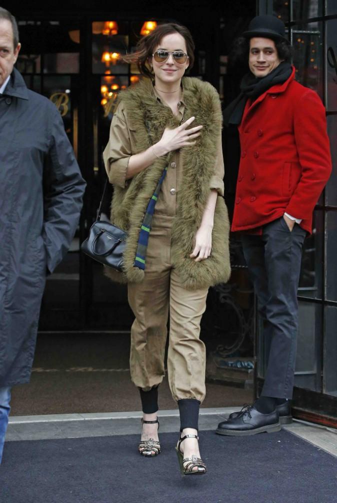 Fifty Shades of Grey : J-3 avant la sortie... Dakota Johnson n'est plus très sûre d'avoir fait le bon choix !