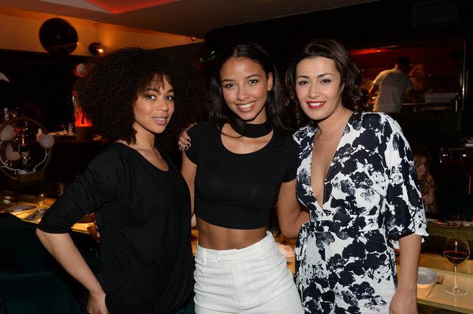 Aurélie Konaté, Flora Coquerel et Karima Charni
