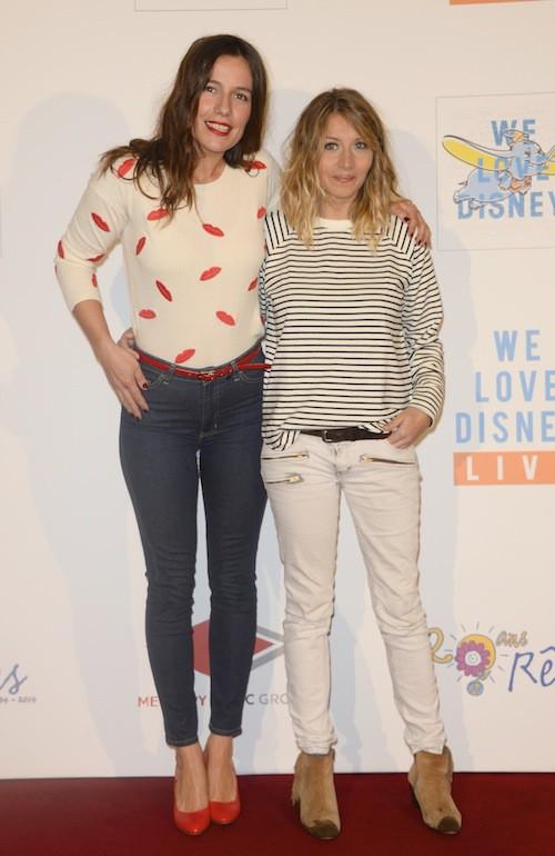 Zoé Félix et Coralie Clément au concert We Love Disney à Paris, le 3 novembre 2014