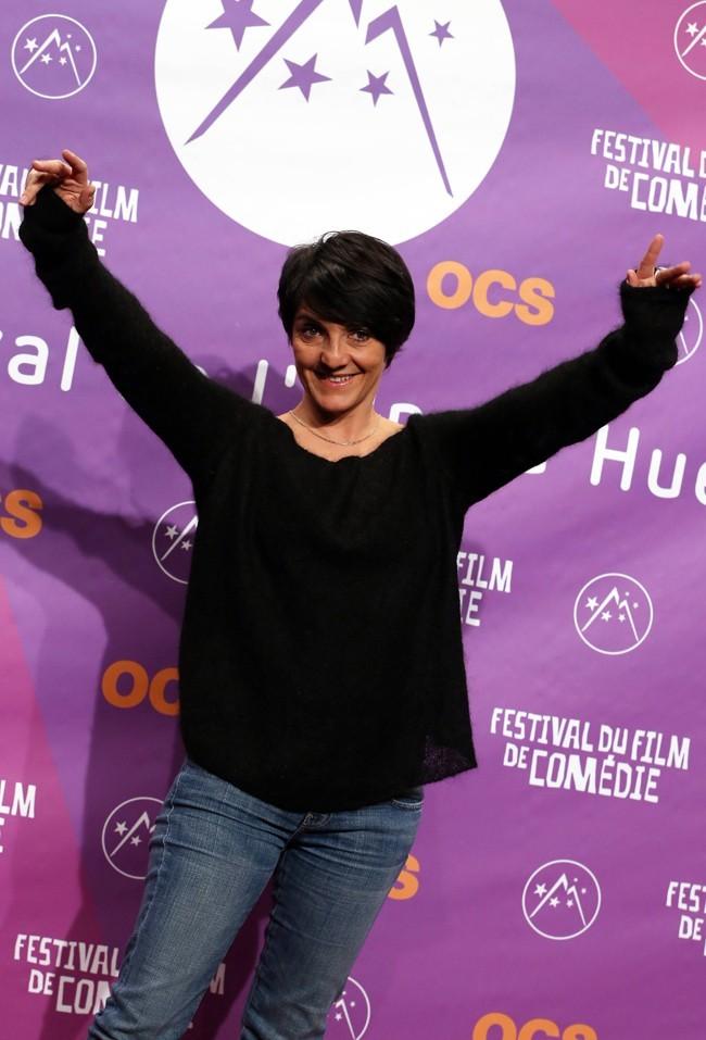 Florence Foresti à la soirée d'ouverture du du 16 ème festival international du film de comédie de l'Alpe d'Huez le 16 janvier 2013