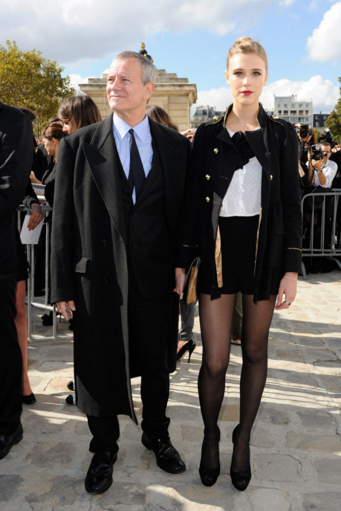 Francis Huster & Gaia Weiss