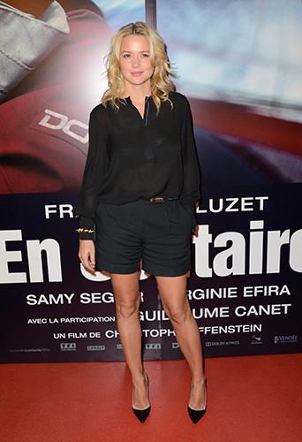 Virginie Efira à Paris le 4 novembre 2013