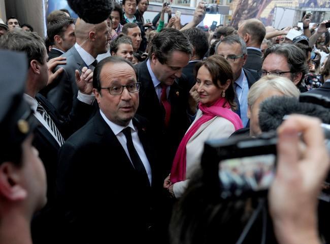 François Hollande à New-York le 27 septembre 2015