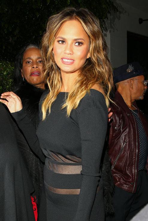 Chrissy Teigen à Beverly Hills le 4 novembre 2015