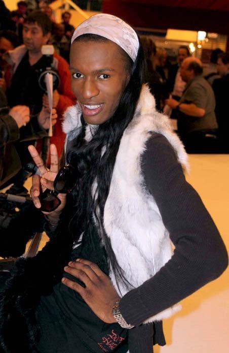 Un gourmand au Salon du chocolat en 2009