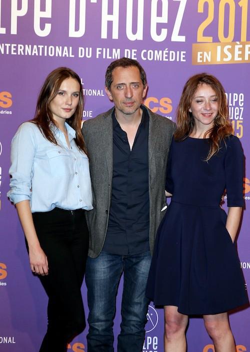 Festival de l'Alpe d'Huez 2015 : Ana Girardot, Gad Elmaleh et Sylvie Testud