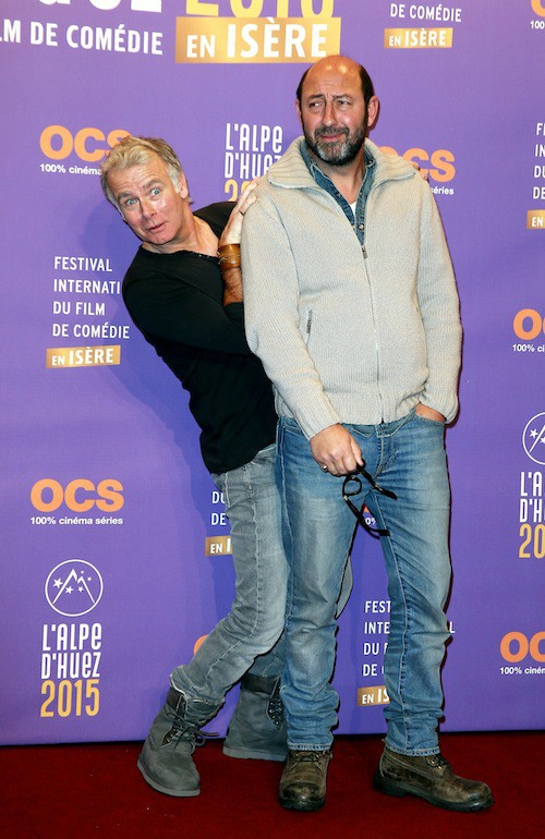 Festival de l'Alpe d'Huez 2015 : Franck Dubosc et Kad Merad
