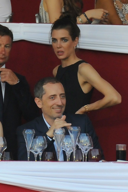 Photos : Gad Elmaleh et Charlotte Casiraghi : ensemble et complices !