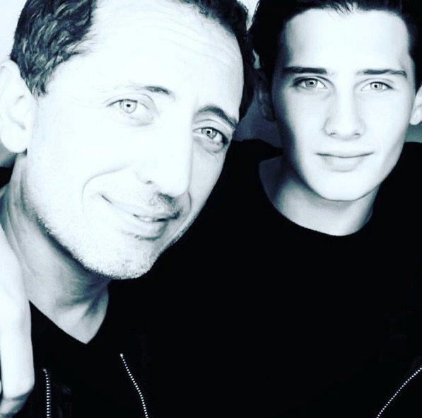 Gad Elmaleh est fier de son fils