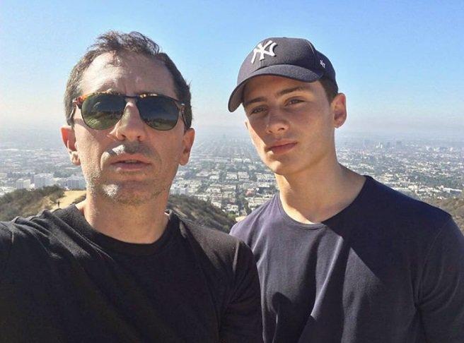 Gad Elmaleh a fait une très belle déclaration à son fils sur Instagram !