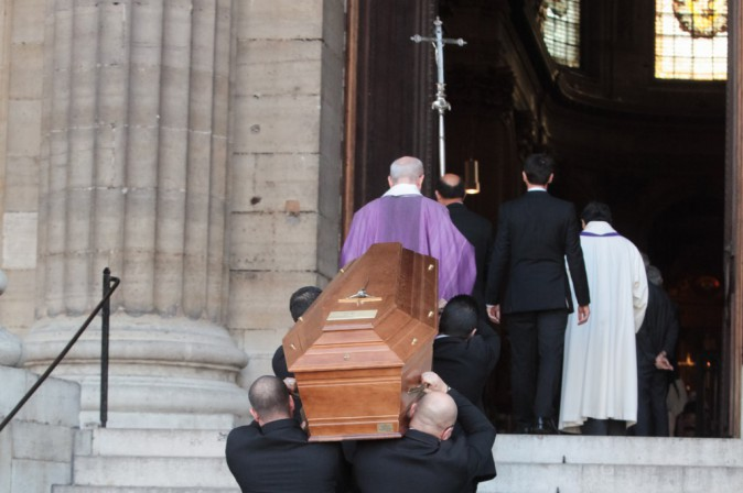 Photos : Gad Elmaleh, Muriel Robin, Alex Lutz... un dernier adieu à Sylvie Joly