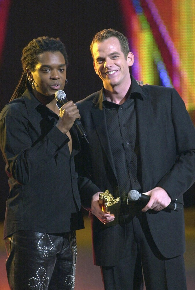 Photos : Garou et Anthony Kavanagh en 2002