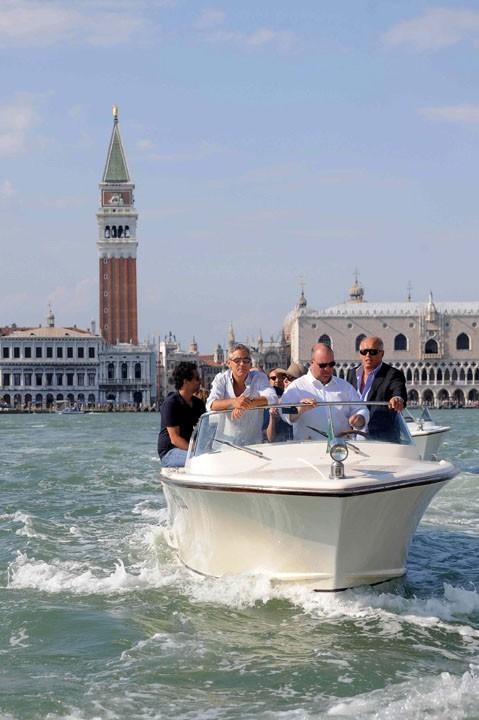 Il est venu présenter son film au festival de Venise !