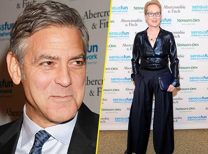 George Clooney : il troque Amal avec Meryl Streep, le temps d'une soirée !