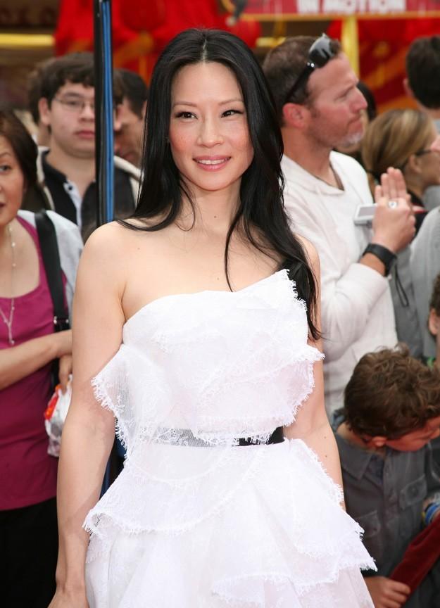 La sublime Lucy Liu n'a pas résisté à son charme...