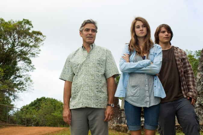 Dans The Descendants, le même type de tenue...