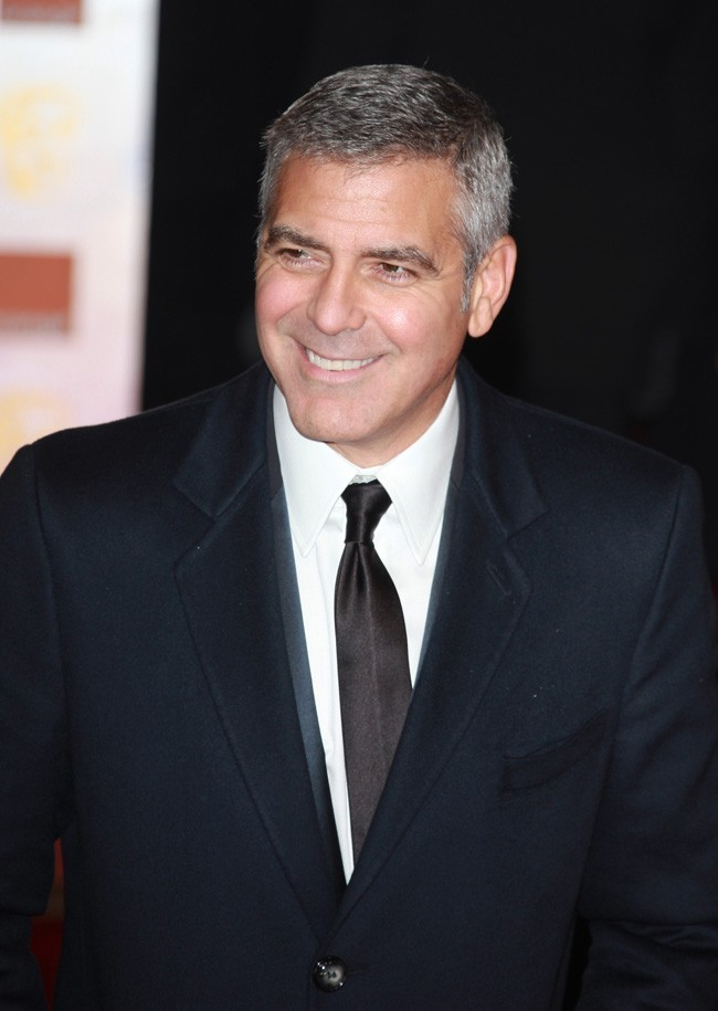 George Clooney, si beau en vrai ...