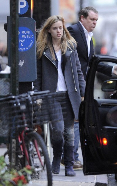 Georgia May Jagger à New York, le 17 décembre 2012.