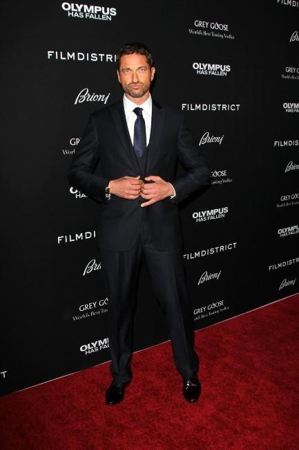 Gerard Butler, Hollywood, 18 mars 2013.