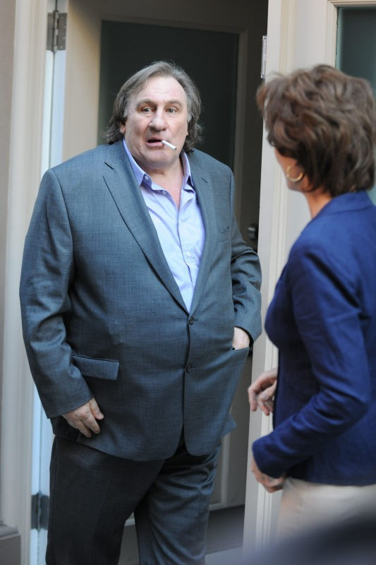 Gérard Depardieu campe Dominique Strauss Khan