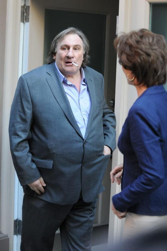 Gérard Depardieu campe Dominique Strauss Khan