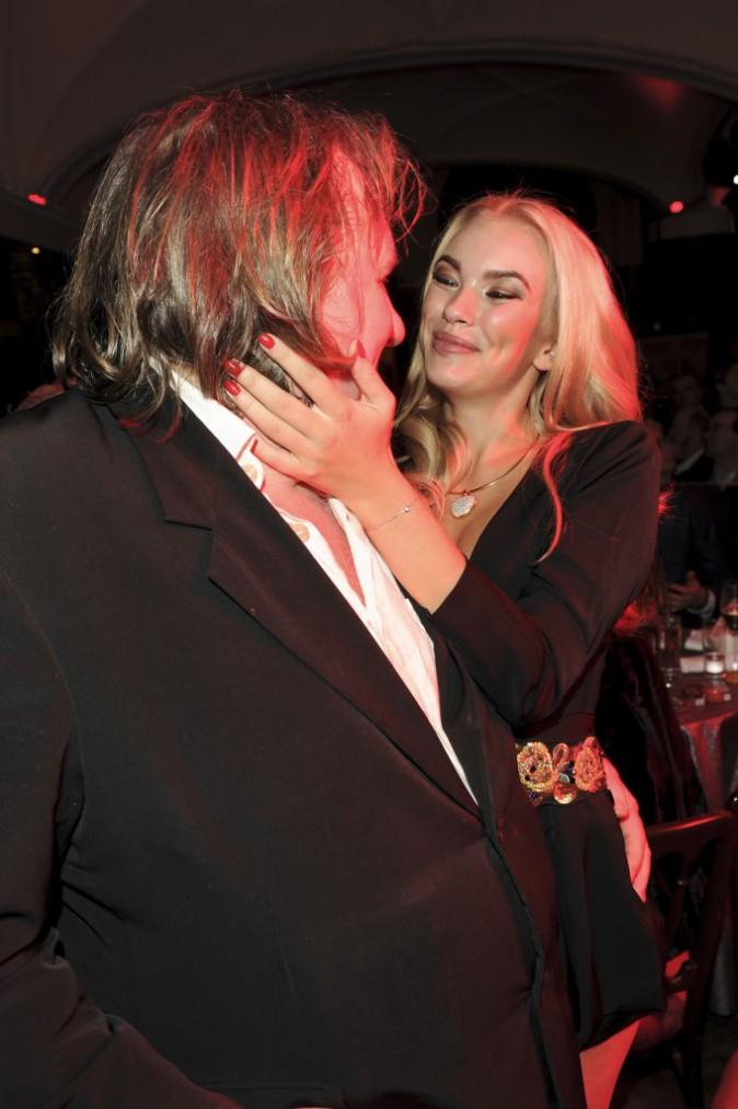 Photos : Gérard Depardieu : aperçu en très bonne compagnie à l'occasion d'une soirée en Allemagne !