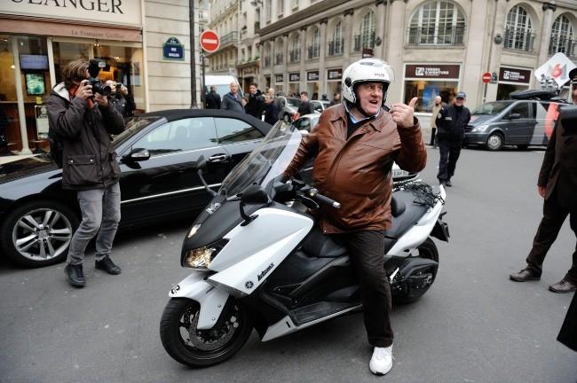Accidents de scooter à répétition...