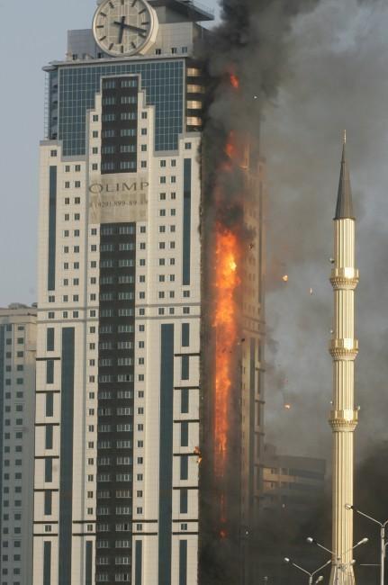 L'appartement tchétchène de Gérard Depardieu ravagé par les flammes