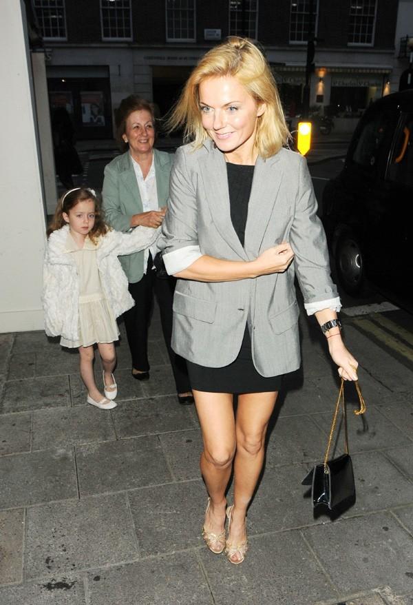 Geri Halliwell avec sa fille et sa maman pour fêter ses 40 ans