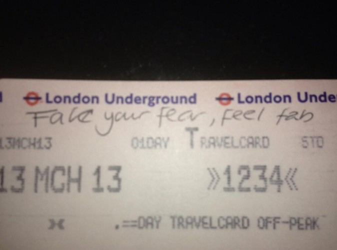 Photos : Geri Halliwell : elle prend le métro pour la première fois depuis 17 ans !